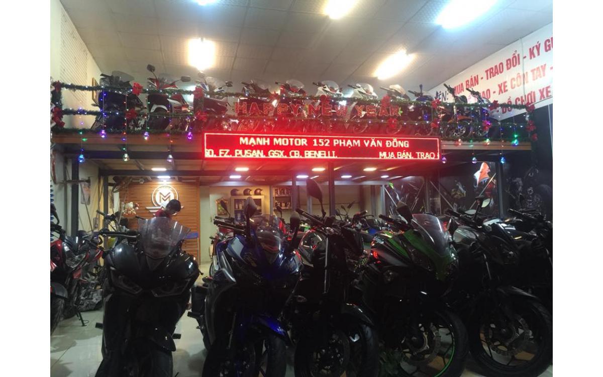 Manh Motor tân trang cửa hàng tưng bừng đón năm mới